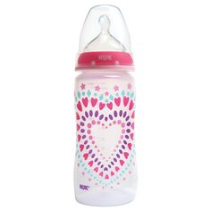 Just in time for Valentines Day!! #storkstack  Gerber NUK Baby Bottles. These are the only bottles my son will take. He loves them so much! (wish they had a blue lid for boys)
