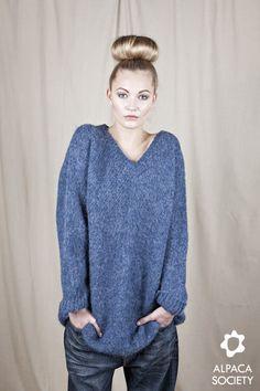 Andrea Long Sweater | Alpaca Society