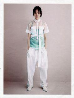 W Magazine - A Clean Getaway Fei Fei Sun