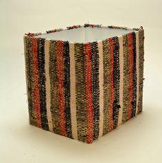 Square - Raffia Cotton - 370x335x300   Lampshades   ASHANTI