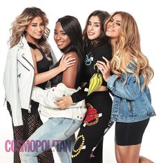 Fifth Harmony for Cosmopolitan- u & i both know ally isn't that tall