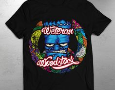 "Check out new work on my @Behance portfolio: ""T-shirts design for woodstock party"" http://on.be.net/1IzAiFQ"