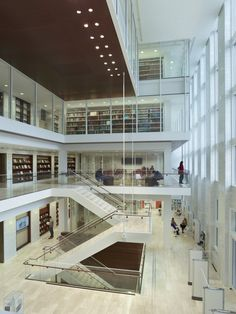 St. Louis Public Library reopened in 2013 after undergoing massive 2 year restoration