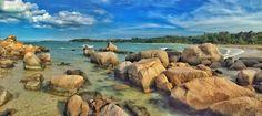 Beautiful of stones at bayantree resort