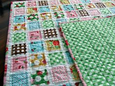 I love this quilt!  Can't wait to make like 20 next weekend!