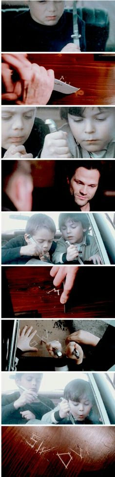 It's great to see Sam and Dean finally have a home, outside of the impala that is.