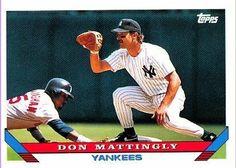 1993 Topps #32 Don Mattingly - New York Yankees (Baseball Cards) by Topps. $1.25. 1993 Topps #32 Don Mattingly - New York Yankees (Baseball Cards)
