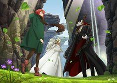 Chise Hatori, Elias Ainsworth, The Ancient Magus Bride, Anime Kawaii, Dc Comics, Films, Funny Memes, Princess Zelda, Manga