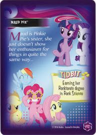 MLP Maud Pie Equestrian Friends Trading Card