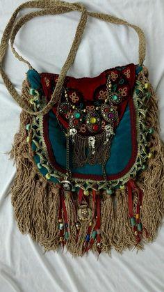 Handmade Velvet Fringe Bag Gypsy Hippie Boho Hobo Ibiza Festival Purse tmyers | Clothing, Shoes & Accessories, Women's Handbags & Bags, Handbags & Purses | eBay!