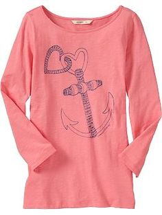 A little late for Valentine's Day but it's an anchor!  Old Navy - ON SALE!!