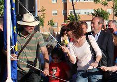 Celebración del Día de Europa en Fuenlabrada con asistencia del alcalde, Manuel Robles. (10-05-13)