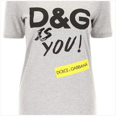 fd1a6b2e1 Dolce  amp  gabbana d amp g is you t-shirt F8K74Z HH7LS Variante Abbinata