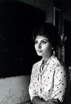 Sophia Loren, photo by Alfred Eisenstaedt, 1961