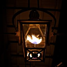 New Orleans Gas Lamp, this will be at the front door