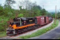 RailPictures.Net Photo: ET&WNC 211 East Tennessee & Western North Carolina Alco RS36 at Elizabethton, Tennessee by Doug Lilly