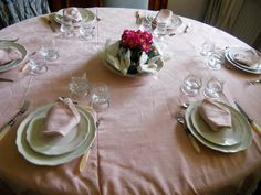 Pik Easter table