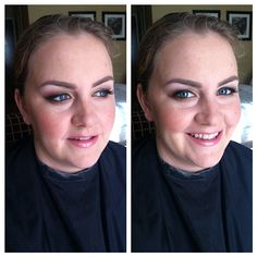 Birthday makeup for Erin! #latergram #sarahpatchmakeup
