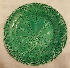 Wedgwood of Etruria majolica green cabbage leaf plate   Pottery, Porcelain & Glass, Porcelain/China, Wedgwood   eBay!