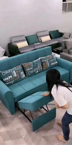 Sofa Bed Design, Living Room Sofa Design, Bedroom Furniture Design, Living Room Sets, Bed Furniture, Home Decor Furniture, Living Room Designs, Sofa For Bedroom, Sofa For Living Room