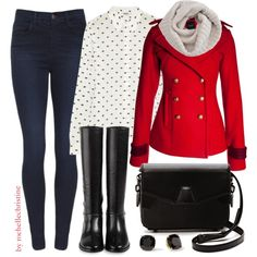 """""""Winter Outfit"""" by rochellechristine on Polyvore"""