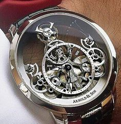 skeleton watches for men leather band Fossil Watches, Fine Watches, Cool Watches, Unique Watches, Elegant Watches, Beautiful Watches, Patek Philippe, Silver Pocket Watch, Skeleton Watches