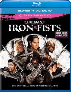 The Man with the Iron Fists Blu-ray by Universal Studios, Region A