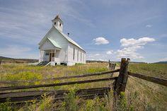 Old Church  - Fox Oregon