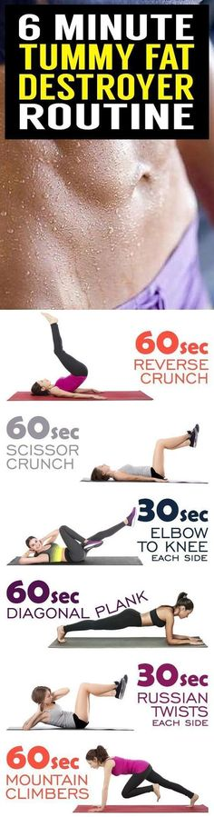 Belly Fat Burning, Belly Workout Plans, exercise ideas, belly fat loss, weight l… Fitness Workouts, Fitness Tips, Fitness Motivation, Health Fitness, Exercise Motivation, Quick Workouts, Workout For Flat Stomach, Belly Fat Workout, Belly Fat Loss