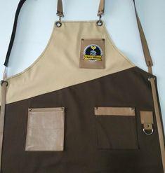 Önlük,apron. ( terziersin ) Leather Bag Pattern, Denim Ideas, Barbershop, Suspenders, Aprons, Chefs, Coffee Shop, Shopping, Style