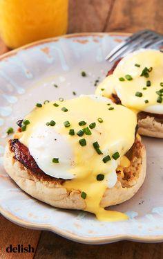 This Blender Hack Makes Eggs Benedict SO Much EasierDelish - Diet Food Eggs Benedict Recipe, Egg Benedict, Snacks Japonais, Brunch Recipes, Breakfast Recipes, Breakfast Ideas, Brunch Ideas, Breakfast Dishes, Real Food Recipes