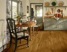 Oxford Brown Hickory Hardwood Floors by Armstrong