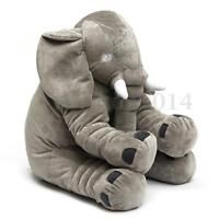 Large Big Soft Elephant pillows Cushion Baby Plush Toy Stuffed Animal Kids Gift