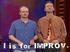 Improv! Whether tickets to a show or the gift of a class, improv is an actor's friend.