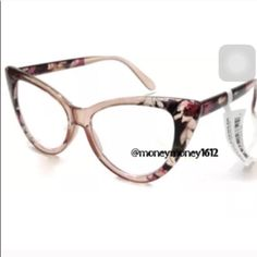5NEW Vintage Style Cat Eye Reading Glasses Brand new. Lenses: Premium Quality Polycarbonate Lenses. Available in +1.00 to + 3.00. Also available in black. NO TRADE M'Boutique Accessories Glasses