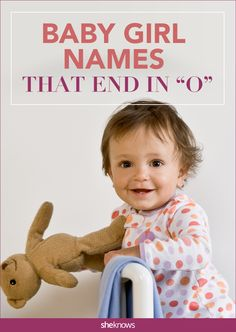 Oh yes! These baby names for girls end with a perfect sound