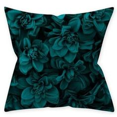 Couch Cushion Covers, Pillow Covers, Throw Pillow Cases, Decorative Throw Pillows, Pillow Inserts, Cotton Linen, Blue Green, Collection, Design