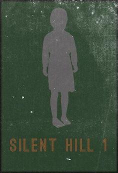 Minimalist Posters - Silent Hill 1