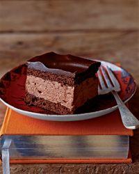 Chocolate Cream Squares Recipe