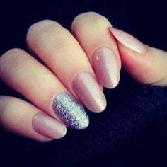 soft pink and sparkle