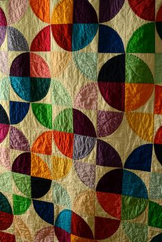 colorful geometric #quilt