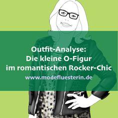 Outfit für die kleine O-Figur im romantischen Rocker-Chic Rock Chic, Mode Outfits, Fashion Outfits, Style Inspiration, Memes, Lifestyle, Closet, Mathematical Analysis, Gray Nail Polish