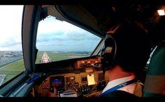 Pilot's life - Flying on the Fokker