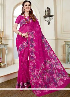 Buy indian designer sarees online for all occasions.  Grab this fashionable cotton   casual saree - Saree