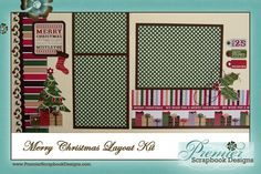 Christmas scrapbook layouts christmas scrapbook pages and layout