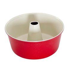 Forma do babki z kominem Nordic Ware czerwona. Więcej znajdziesz na mykitchen.pl #kuchnia #homedecor