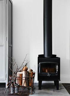 Fireplace Scandinavian style