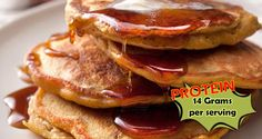 Pumpkin Cinnamon Protein Pancake Recipe