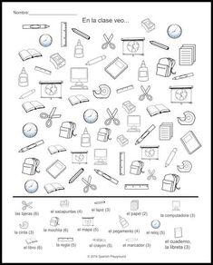 School Supplies in Spanish: 6 Activities for Kids