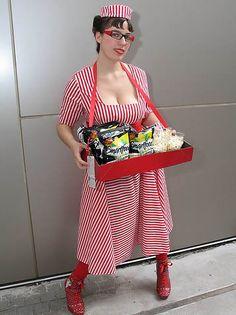 Popcorn Vendor by Anna Fischer, via Flickr